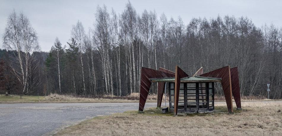 Остановка-паук в Эстонии