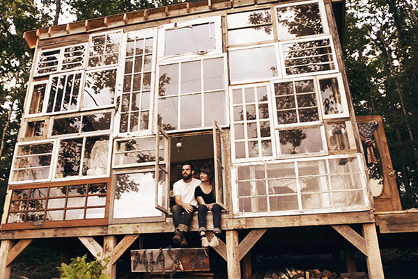 Пост-потребительские окна, старые окна