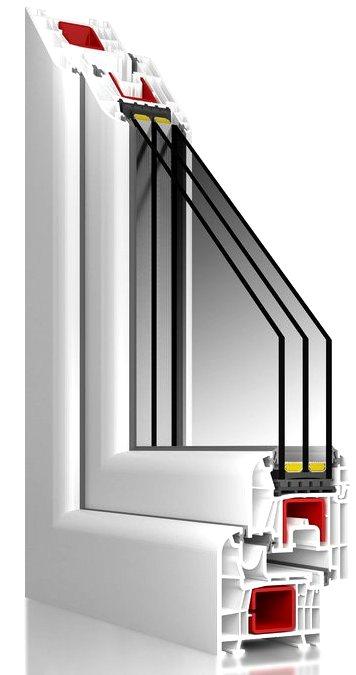 Новые пластиковые окна BUDVAR, T-Modern, T-Passive