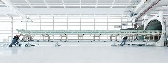 фото: подготовка панелей к автоклавированию на заводе Sedak
