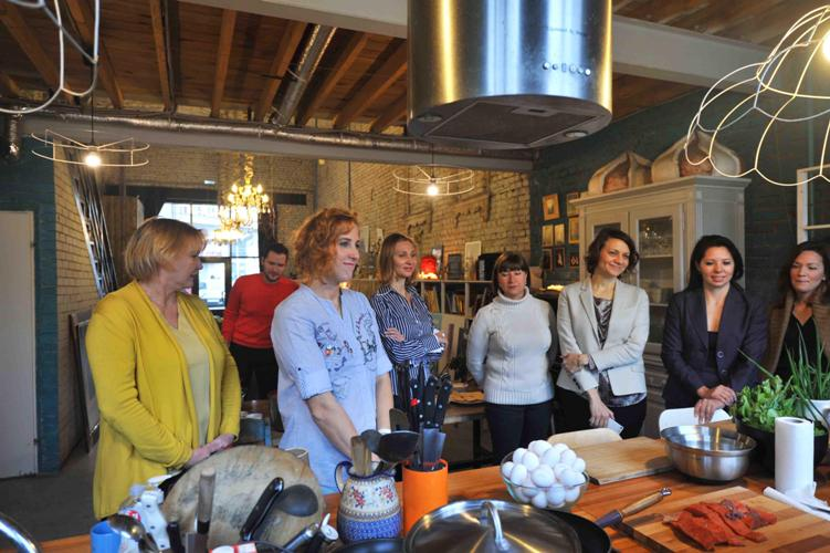 кулинарный пресс-завтрак от компании Рото Франк