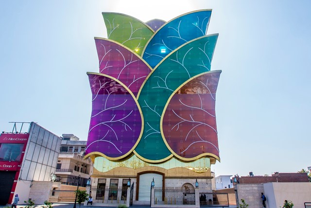 стеклянный фасад, Motisons Tower