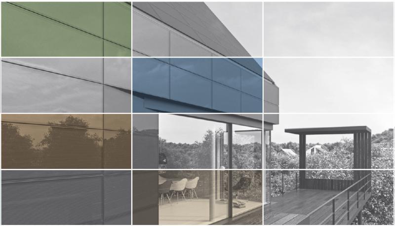 Цветовое разнообразие модулей