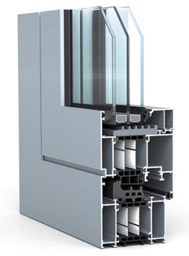 WICONA, серия тёплых алюминиевых оконных систем WICLINE 75 TOP