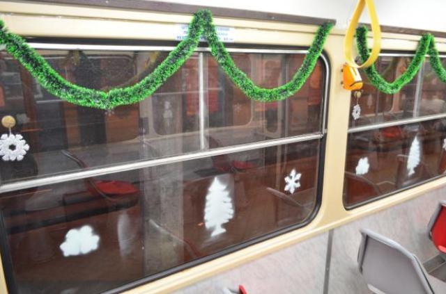 окна, праздничное украшение окон