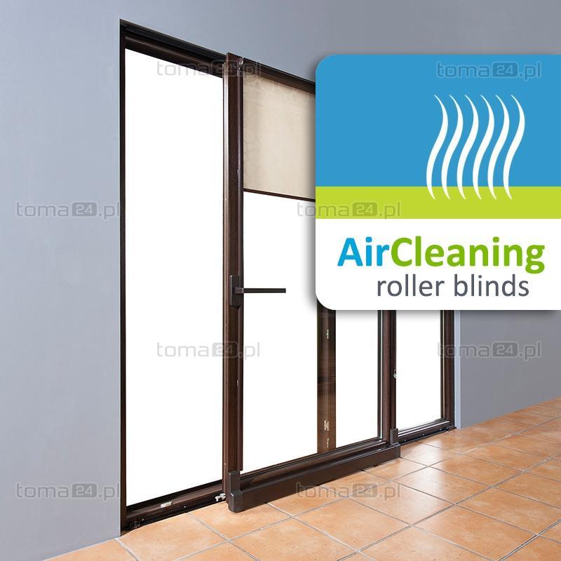 Рулонные шторы, очищающие воздух, ткань BaKaSave, Bamberger Kaliko GmbH, toma