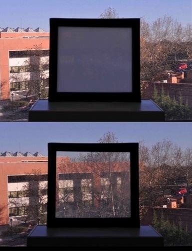 пленка для окон, умные окна, CSIC