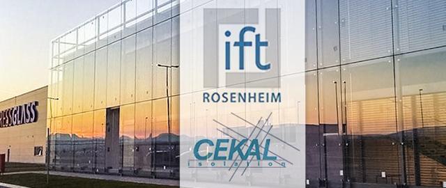 PRESS GLASS, производство стеклопакетов, ift Rosenheim, CEKAL