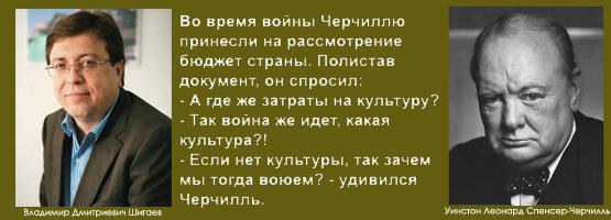 Шигаев В.Д. и Черчилль У..