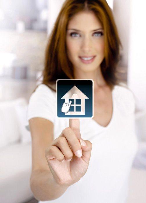 Somfy, система «умный дом», TaHomA, контроль систем экранирования окон