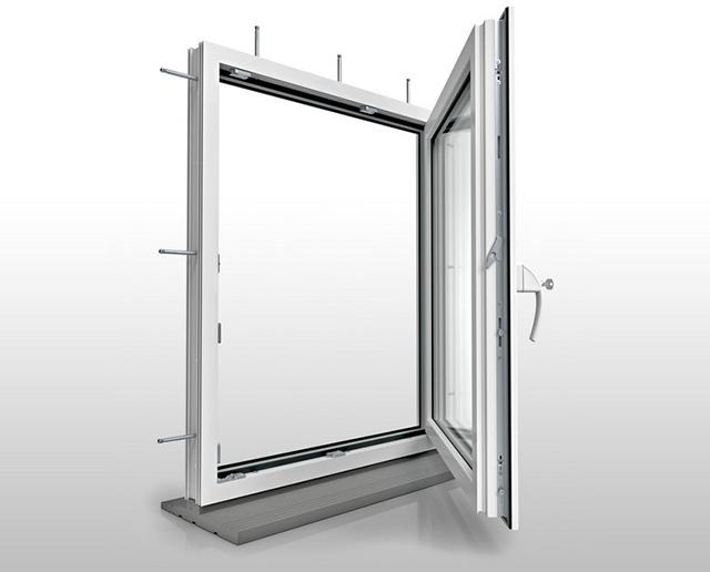 Vetrex, взломостойкое ПВХ окно V82 ProSafe, Roto NT