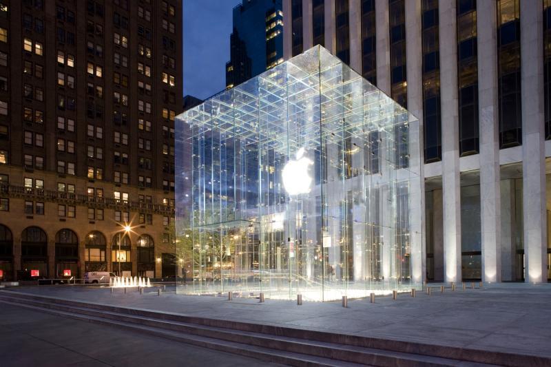 фото: концепт-стор Apple в Нью-Йорке