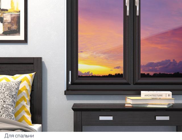 Как выбрать правильный цвет ПВХ окон со стороны интерьера?