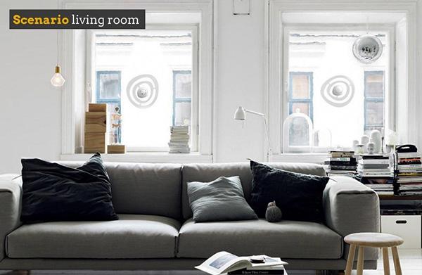 Датчик шумоподавления на окна Sono, шумозащитные окна