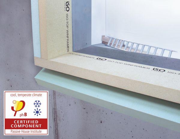 Система предстенного монтажа ПВХ окон ISO-TOP WINFRAMER, ISO-Chemie GmbH, Институт пассивного дома