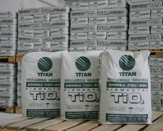Крымский Титан, диоксид титана, производство белого пигмента для ПВХ профилей
