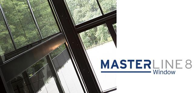Reynaers, система для алюминиевых окон MasterLine 8