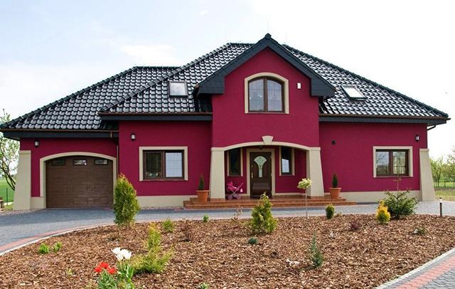 Цветные окна ПВХ, цвет пластиковых окон под колористику фасада