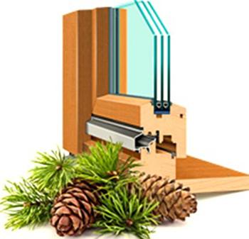 Спрос на деревянные окна из хвойных пород, Wood Resource Quarterly (WRQ)