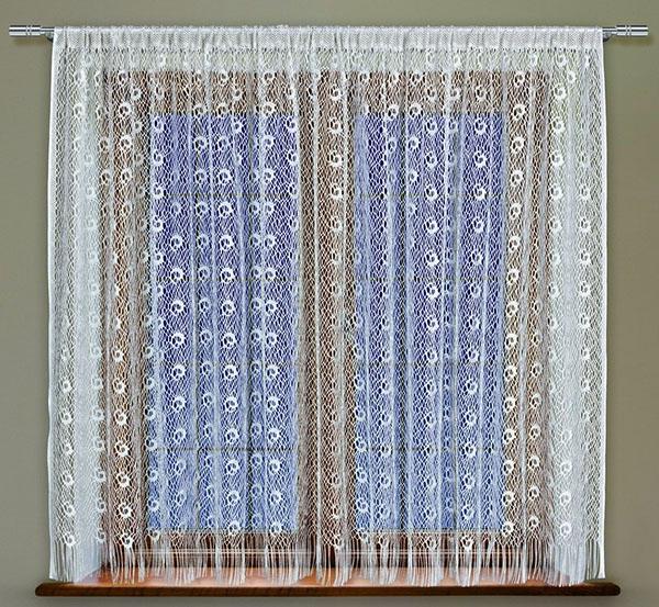 Окна в кружевах, жаккардовые тюлевые занавески