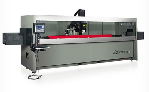 Domel, линия по производству алюминиевых окон