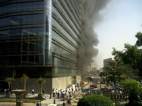 Противопожарная безопасность зданий со стеклянными фасадами, остекление фасадов