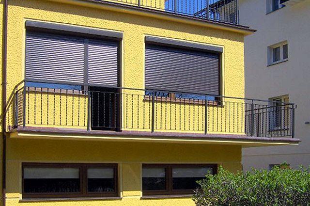 Системы внешней солнцезащиты на окна