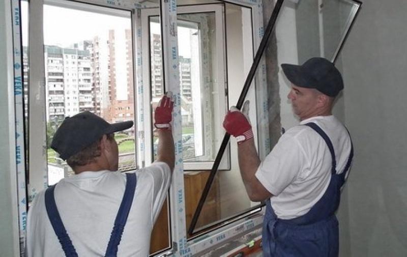 Замена окна