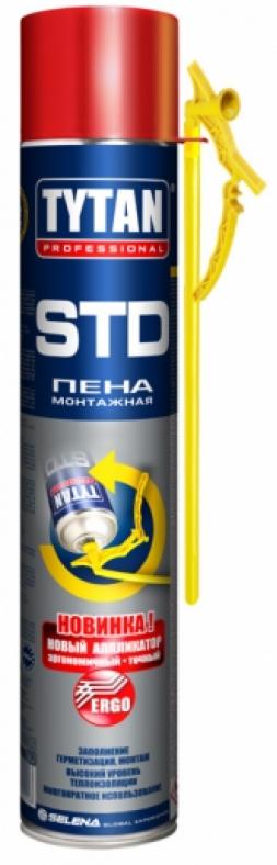Монтажная пена Tytan Professional STD с аппликатором ERGO, Selena