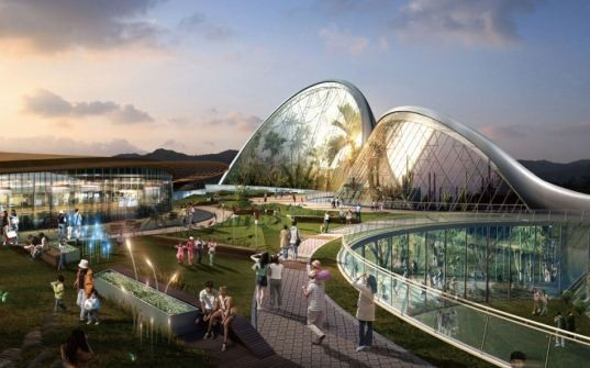 "South Korea's National Ecological Institute (NEI) ""Ecorium"" project"