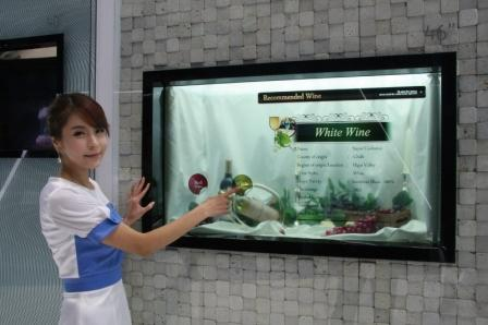 Samsung, окно Transparent Smart Window