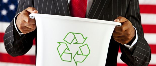 America Recycles Day, пластик