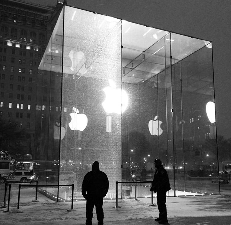 Остекление, Apple, стеклянная панель, стеклопакет