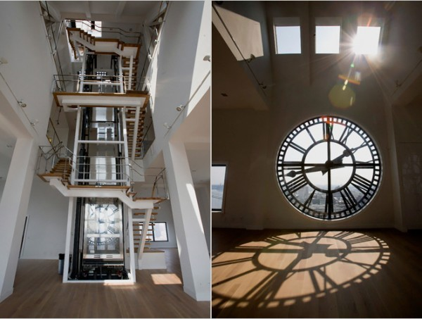 Окна-часы, Clock Tower Building