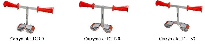 Универсальные ручные захваты Carrymate® для безопасного переноса стеклопакетов