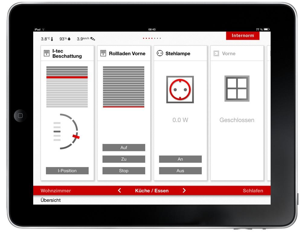 Умное окно, Internorm, смарт окно I-TEC Smart Window, выставка BUDMA 2014