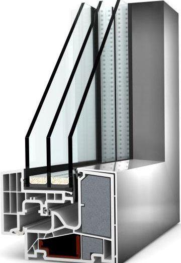 Пассивное окно KF400 Thermo Passiv, Internorm