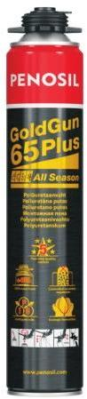 Penosil GoldGun 65 Plus, пена для монтажа окон