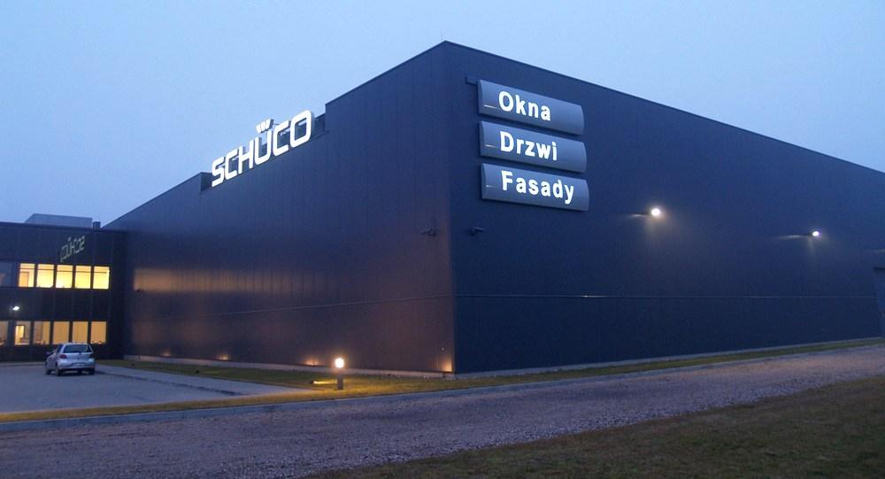 Алюминиевые и ПВХ профили Schüco, Schüco International Polska