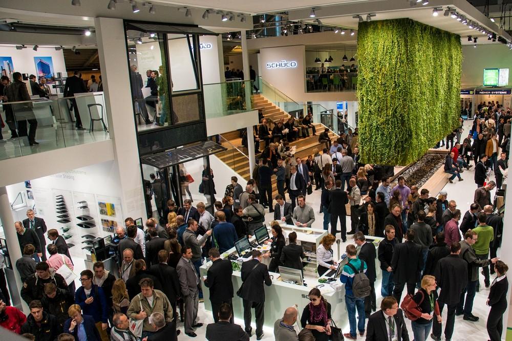 оконная система Schüco, выставка BAU 2013