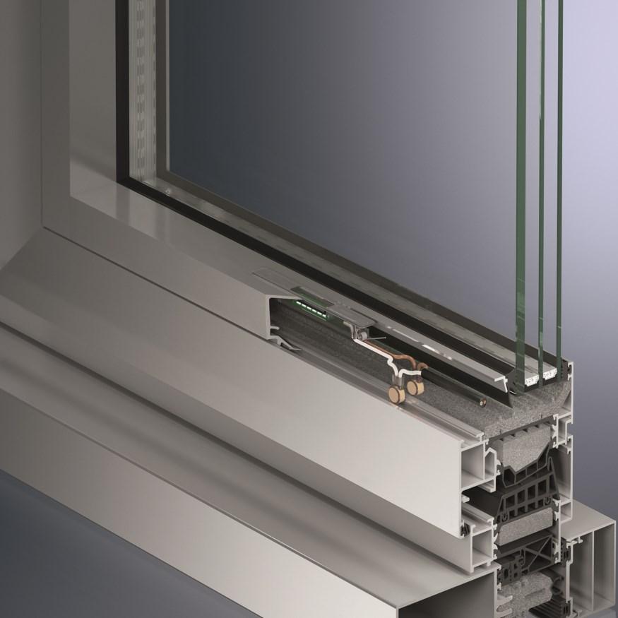 Система светодиодного освещения окон и фасадов Schüco LightSkin, Zumtobel