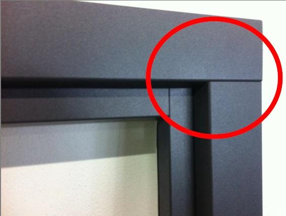 Алюминиевые накладки aluskin, ПВХ окна, aluplast