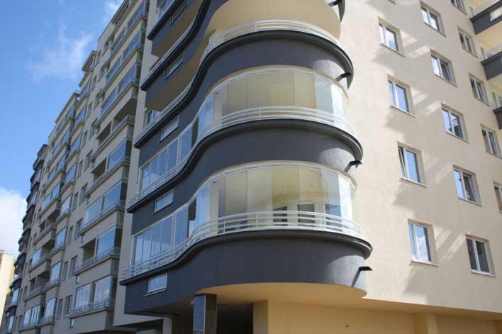 Безрамное остекление балконов и лоджий, безрамное остекление террас