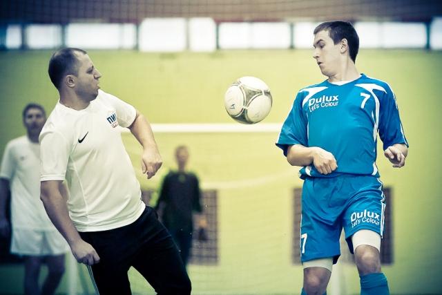 Мини-футбольный турнир среди строительных компаний