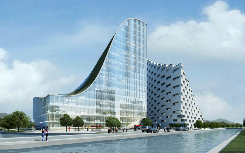 JDS Architects, Hangzhou Waves, остекление