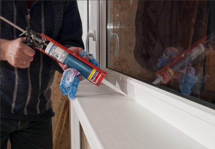 Материалы для монтажа пластиковых окон
