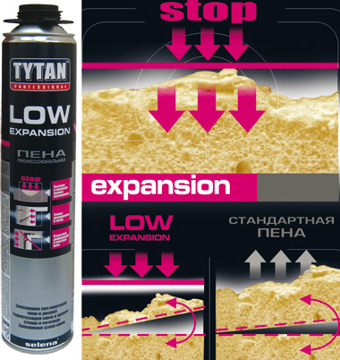 ��������� ����  Tytan Professional LOW EXPANSION, SELENA