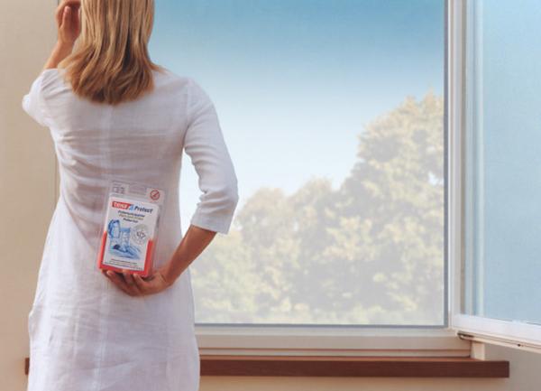 Москитная сетка для аллергиков, экран tesa® Protect