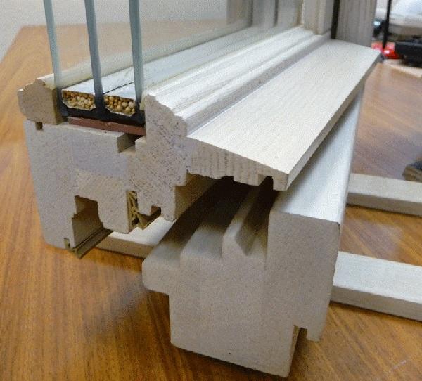 Материал для деревянных окон, окна из дерева