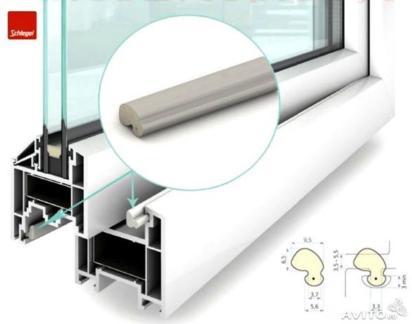 Оконный уплотнитель Schlegel Q-Lon, Schelegel, производитель уплотнительных систем для окон и дверей,